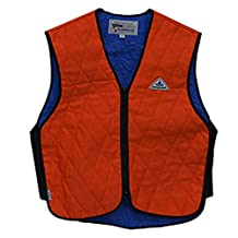 FR - Hi-Viz - HyperKewl Cooling Sport Vest - Keep Cool on the Rig or Anywhere - -HI-VIZ ORANGE-XL