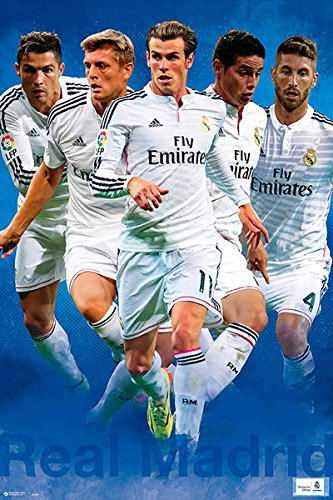Real Madrid - Sport / Soccer Poster / Print The Players - Cristiano Ronaldo,