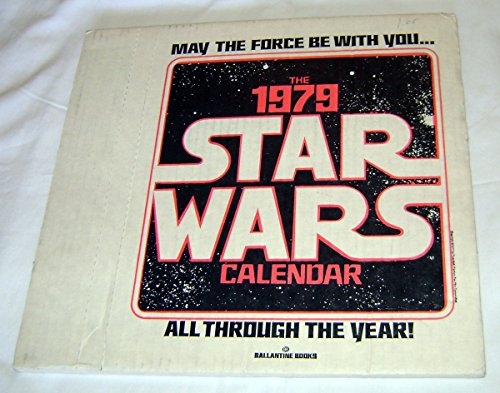 Star Wars 1979 Calendar Factory Sealed in Mailer Box Ballantine Books