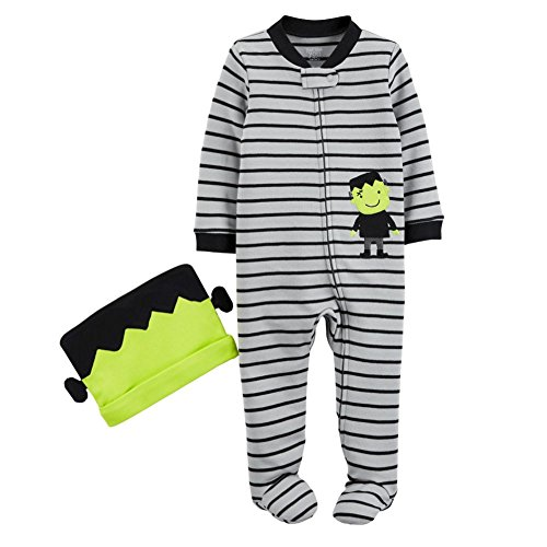 Just One Youby Carter's Baby Boys' Monster Sleep N' Play and Hat Set (6 Months) ()