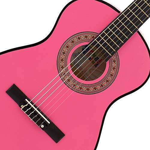 Guitarra clásica Mad About – Colorida guitarra española con bolsa ...