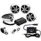Best BOSS Audio Mp3 Speakers - Boss MC650B 1200w Bluetooth (4) Speaker+Amplifier Handlebar System Review