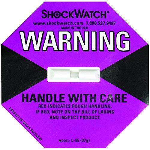ShockWatch SHW37 37G Indicators (Pack of 50)