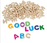 26PCS/LOTPaint unfinished wood alphabetA-Z lettersEarly educational toysWood crafts for English learning