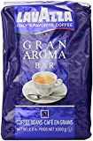 Lavazza Gran Aroma Bar Coffee Beans, 2.2-Pound - Pack of 2