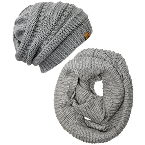 Wrapables Winter Knitted Infinity Beanie