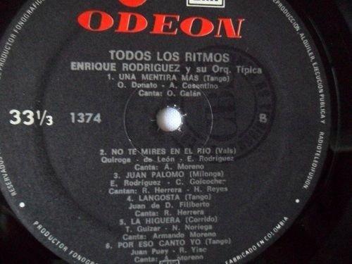 ENRIQUE RODRIGUEZ Y SU ORQUESTA *TODOS LOS RITMOS- ODEON-EMI 1977 EXCELLENT - ENRIQUE RODRIGUEZ Y SU ORQUESTA *TODOS LOS RITMOS- ODEON-EMI 1977 EXCELLENT ...