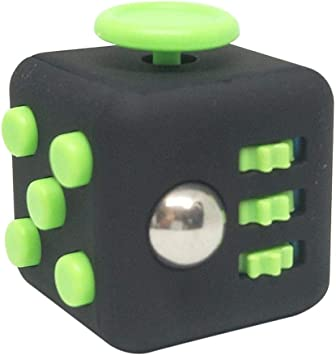 Fun Fidget Toy Cube Relieves Stress /& Anxiety for Children and Adults