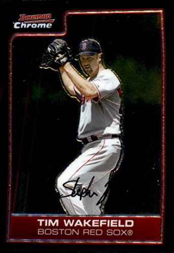 2006 Bowman Chrome Baseball #155 Tim Wakefield Boston Red Sox