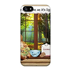 Awesome Light Eater Flip Case With Fashion Design For Iphone 5/5s