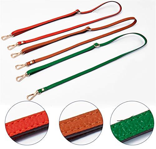 DIY Mdurian Adjustable Purse Handbags Crossbody 0 Orange Replacement Buckles Shoulder Leather Strap For 18 47x51 Bag r1r4P