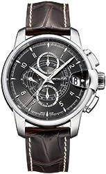 Hamilton Timeless Classic Railroad Black Dial Automatic Chronograph Mens Watch H40616535
