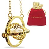 KalematStore 24k Gold Plated Necklace for Time
