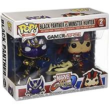 Funko Pop Games: Marvel Capcom-Black Panther Vs Monster Hunter Collectible Figure