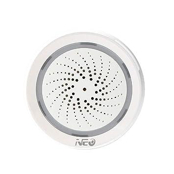 Neo-NAS AB02W WiFi Alarma teledirigida USB/con Pilas Home ...