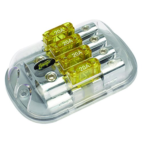 Stinger SPD5623 PRO Series Maxi Fused Power Distribution Block with (2) 1/0-Gauge Inputs and (4) 4/8-Gauge Outputs ()