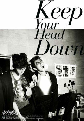 東方神起 DVD付初回生産 / ウェ(Keep Your Head Down)