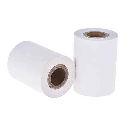 Aibecy 2 rollos 57 mm papel térmico 2 1/4