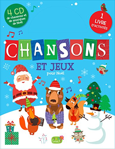 Chansons et jeux pour Noel avec 4 CD [ Songs and Games for Christmas + 4 CDs (French Edition)