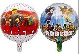 "10PC X18"" ROBLOX FOIL ROUND BALLOONS BALLOON"