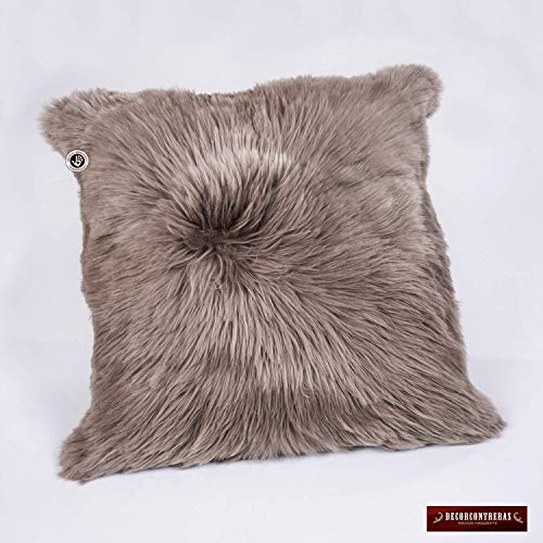 Peruvian Suri Alpaca Fur Pillow Cover 18x18