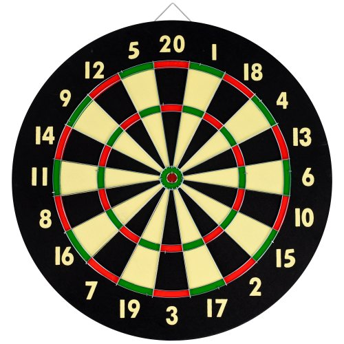 TG Dart Engagement Set With 6 Darts and Board Dart Board