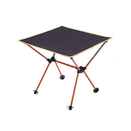 ERP Mesa para Acampada Mesa De Camping 49 * 49 * 46cm Ultraligero ...