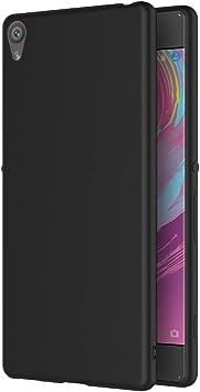 AICEK Funda Sony Xperia XA, Negro Silicona Fundas para Sony XA Carcasa Xperia XA Negro Silicona Funda Case: Amazon.es: Electrónica