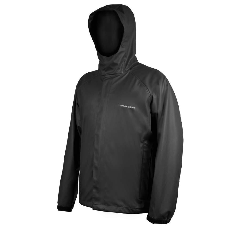 Grundéns Men's Neptune Fishing Jacket, Black - Large by Grundéns