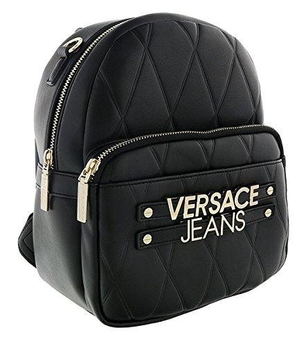 Versace EE1VSBBL2 E899 Black Backpack for Womens