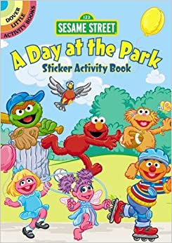 Sesame Street A Day at the Park Sticker Activity Book