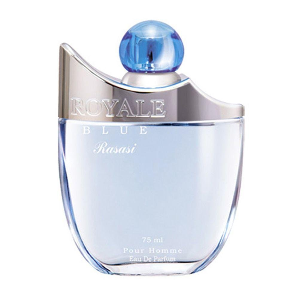 Amazoncom Royale Blue Eau De Perfume For Men By Rasasi 75 Ml