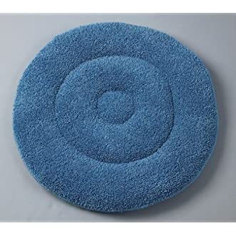 Medline MDT217787 Microfiber Bonnet Pads, 17 , Blue