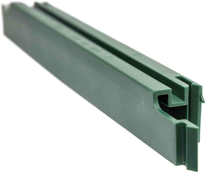 Kunststoff Steckprofil Fur Sichtschutzstreifen Ral 6005 Moosgrun I