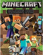 Minecraft coloring book: Unofficial Coloring Book for Minecrafters 101 pages