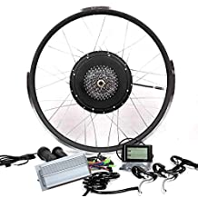 48V1000W Cassette Motor Electric Bike Conversion Kit + LCD + 8 or 9 Speed Gear Theebikemotor