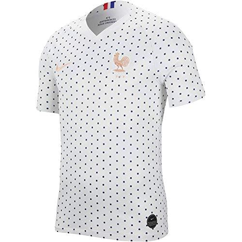Nike 2019-2020 France Away Womens Football Soccer T-Shirt Jersey