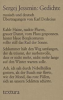 Gedichte russisch und deutsch