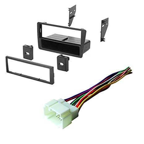 amazon com: honda civic 2001 2002 2003 2004 2005 car stereo radio cd player  receiver install mounting kit wire harness: car electronics