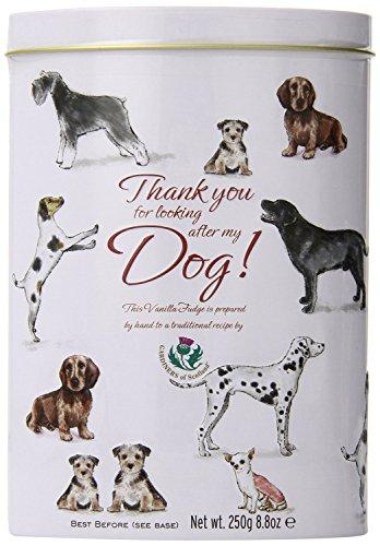 Chocolate Vanilla Fudge (Gardiners of Scotland Vanilla Fudge Thank You Tins 'Dogs', 8.8-Ounce)