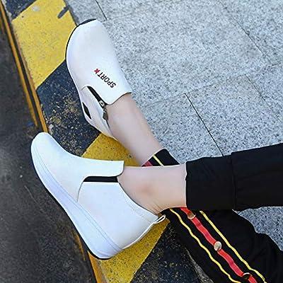 Btruely Zapatos de Mujer❤ Zapatos de Cuero con Cordones de Gamuza ... 2b06b5d252ec2