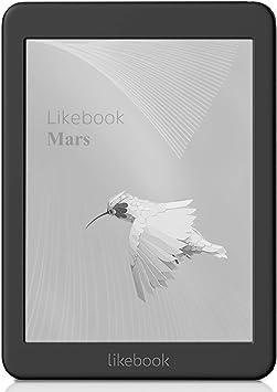 Likebook Mars E-Reader - Negro, Pantalla Táctil de 7,8