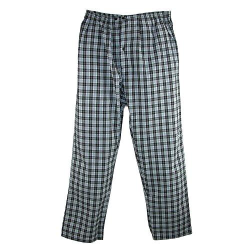 Hanes Men's Tall Size Long Sleeve Long Leg Pajamas, LT, Grey by Hanes (Image #3)