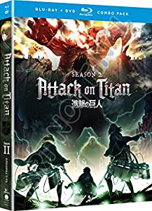 Attack on Titan: Season Two (Blu-ray/DVD Combo) from Funimation