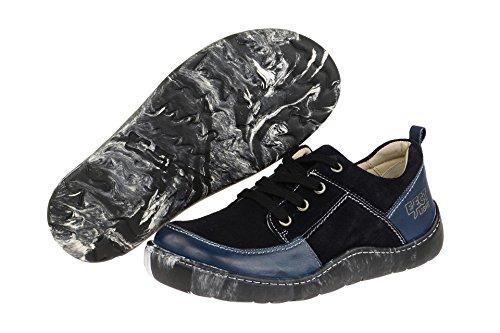 Et Eject Coupe Femme Classique 17916 Lacets 010 À Bleu Chaussures CA6XAqw