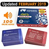img - for US Citizenship test Civics Flash Cards for the Naturalization Exam 2019   Includes Online Audios with all official 100 USCIS Questions and Answers   USCIS N-400. Get ready for the Immigration Test in only 20 days. book / textbook / text book