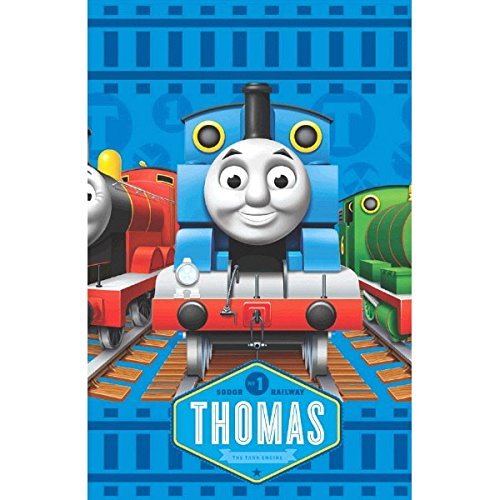 American Greetings Thomas & Friends Plastic Table Cover, 54 x 96
