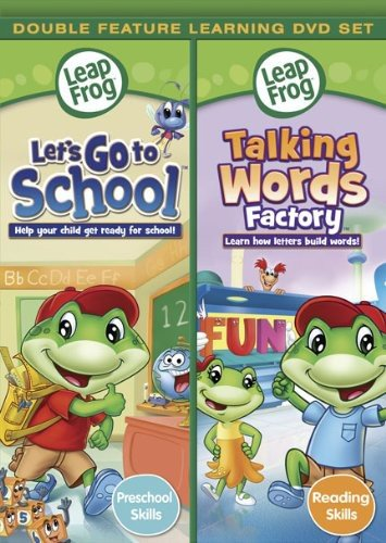 Leapfrog: Let's go to School/ Talking Words Factory - Double Feature [DVD] (Leapfrog Word Factory Dvd)