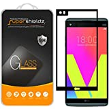 [2-Pack] Supershieldz for LG V20 Tempered Glass Screen Protector, [Full Screen Coverage] Anti-Scratch, Bubble Free, Lifetime Replacement Warranty (Black)