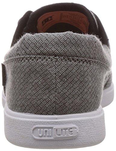 DC Shoes - Zapatillas de Lona para hombre Negro - blanco y negro